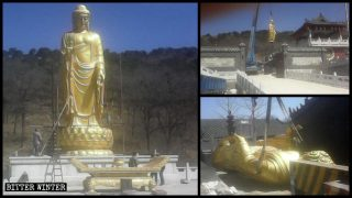 Mehr als 1.200 buddhistische Statuen entfernt