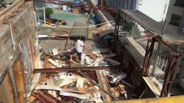 Die Trainingsstätte der Reformierten Kirche von Guangzhou wurde zerstört