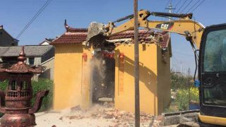 Razzien gegen Chinas Volksreligionen:  6000 Tempel zerstört
