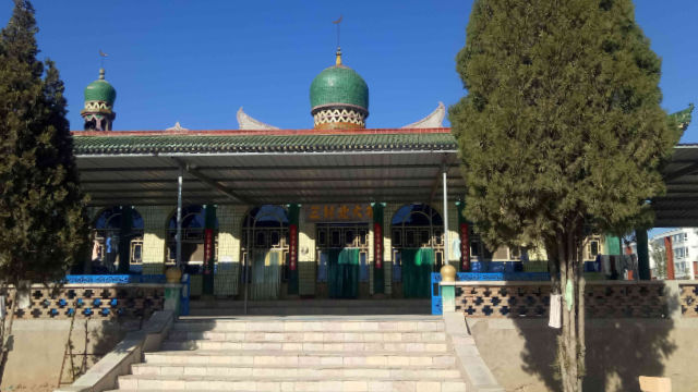 Das ursprüngliche Aussehen der Beida-Moschee