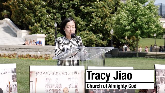 Tracy-Jiao in Washington