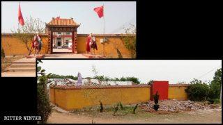 Tempel des Vorsitzenden Mao zerstört, nachdem Bitter Winter darüber berichtet hatte