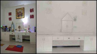 Katholische Kirche in der Diözese Yujiang von Razzia und Schließung betroffen
