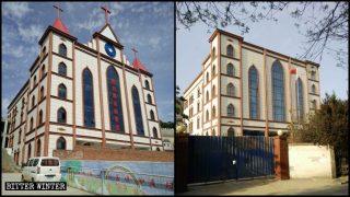 Über 100 Gläubige unter Druck gesetzt, dem Abriss der Kirche zuzustimmen