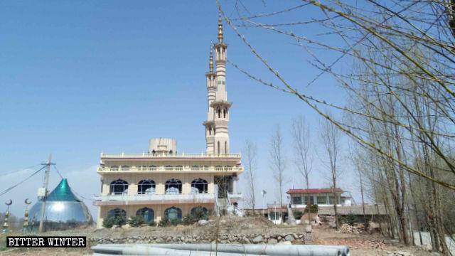 Die Kuppel der Shenjiaping-Moschee wurde entfernt.