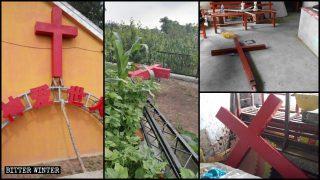 Hartes Durchgreifen gegen das Christentum in Jilin: Über 100 Kirchenkreuze entfernt
