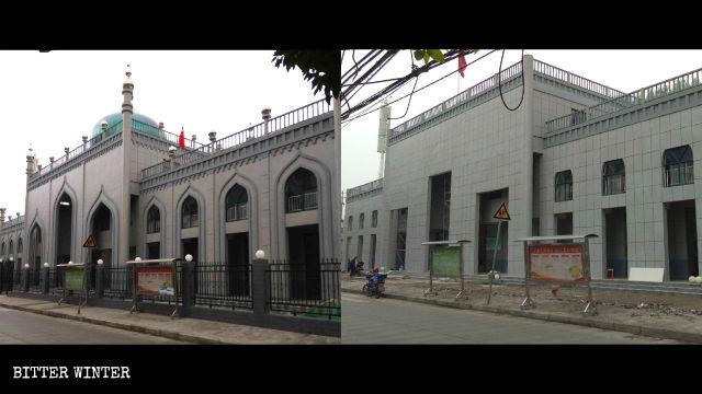 Islamische Architekturelemente wurde entfernt